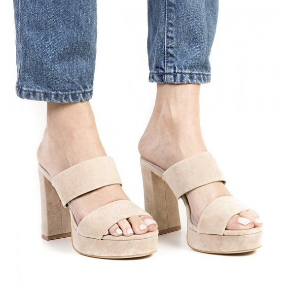 ca9b0ed4add3 Jeffrey Campbell Shoes - JEFFREY CAMPBELL Adriana Suede Platform Sandal